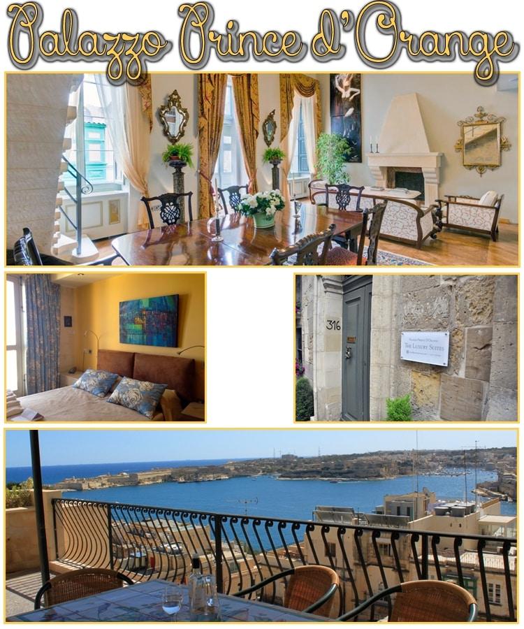 Palazzo Prince d'Orange - hébergements à Malte