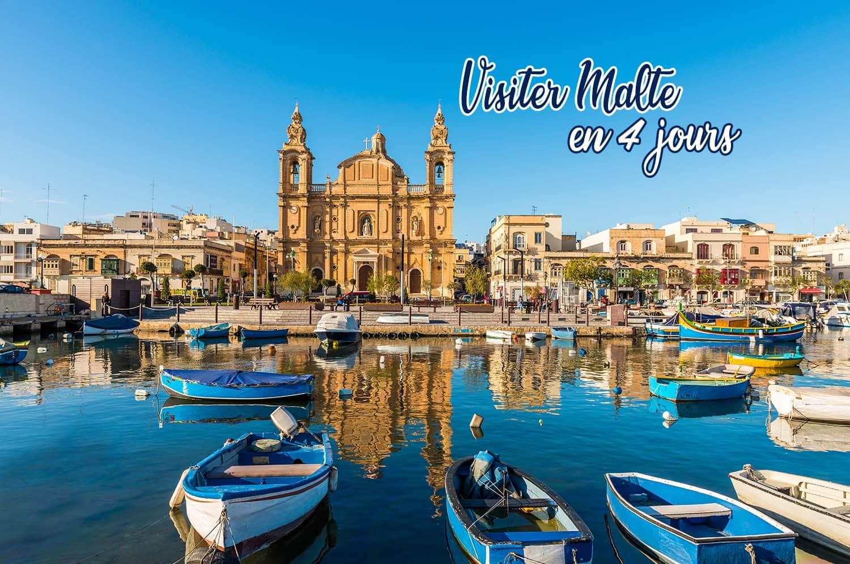 Tout savoir pour Visiter Malte en 4 jours - JDroadtrip.tv