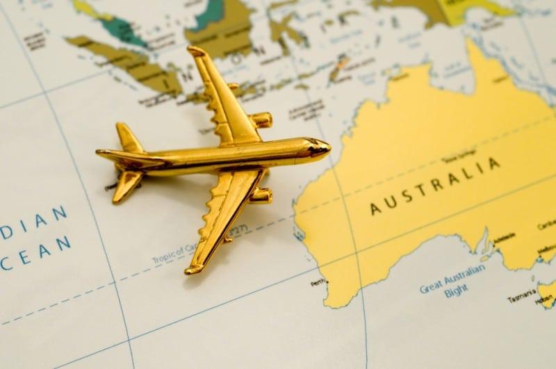 Réserver le billet d'avion PVT Australie