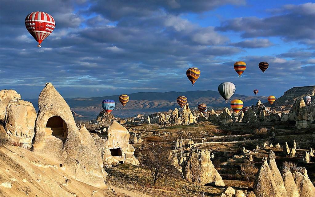 lieux incontournables à Istanbul - Cappadoce