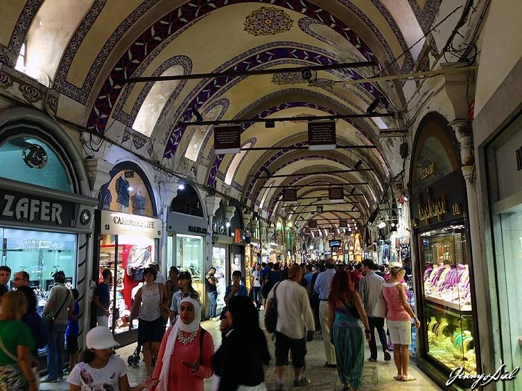 lieux incontournables à Istanbul - Grand Bazar