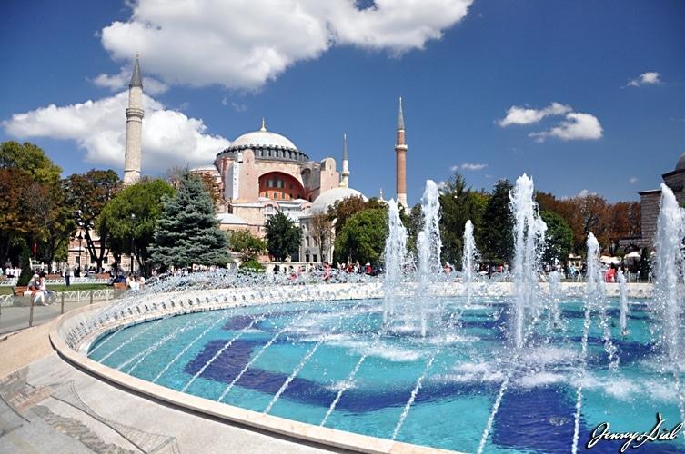 lieux incontournables à Istanbul - Sainte Sophie