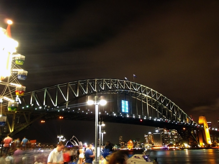 Fêter le jour de l'an à Sydney - Harbour Bridge