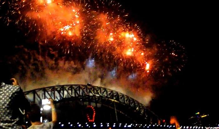 Fêter le jour de l'an à Sydney, bonne année !