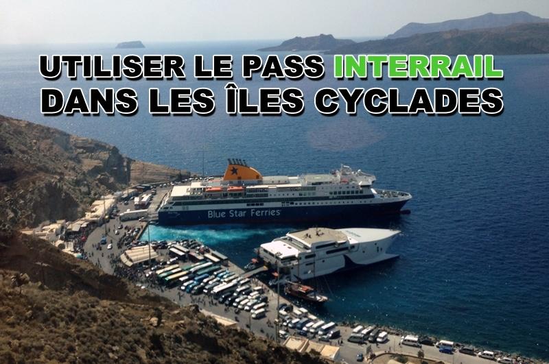 Utiliser son pass InterRail dans les Cyclades