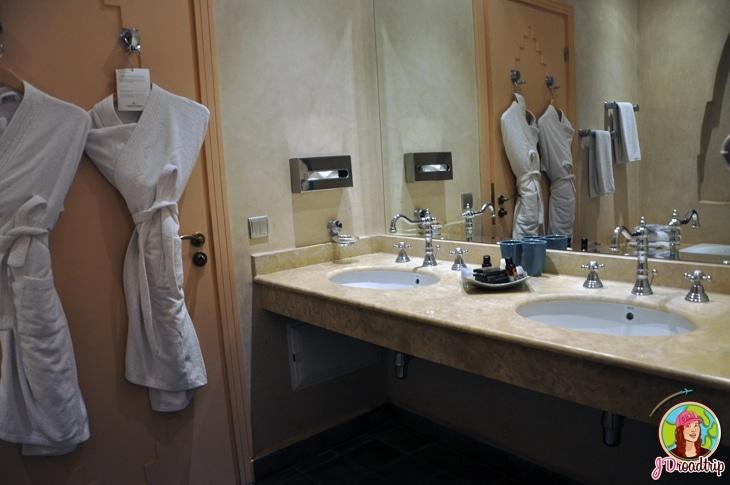 Hôtel dans la palmeraie de Marrakech - Salle de bain