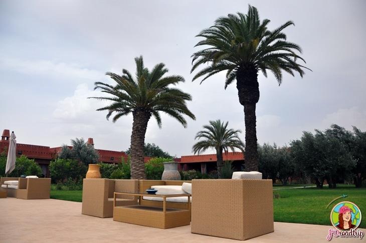 Hôtel dans la palmeraie de Marrakech - Extérieur
