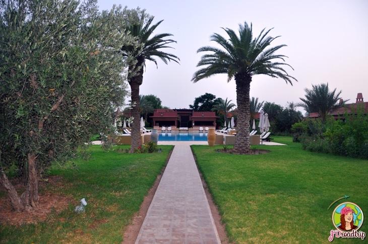 Hôtel dans la palmeraie de Marrakech - Domaine des remparts