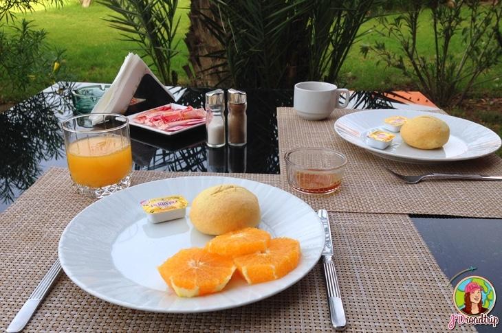Hôtel dans la palmeraie de Marrakech - Petit déjeuner