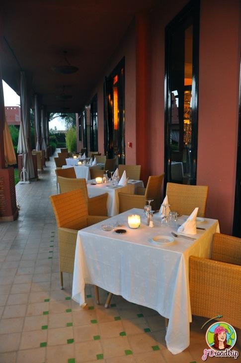Hôtel dans la palmeraie de Marrakech - Dîner