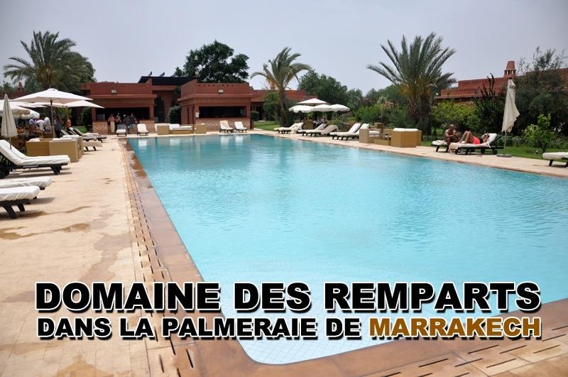 Domaine des remparts, hôtel dans la palmeraie de Marrakech