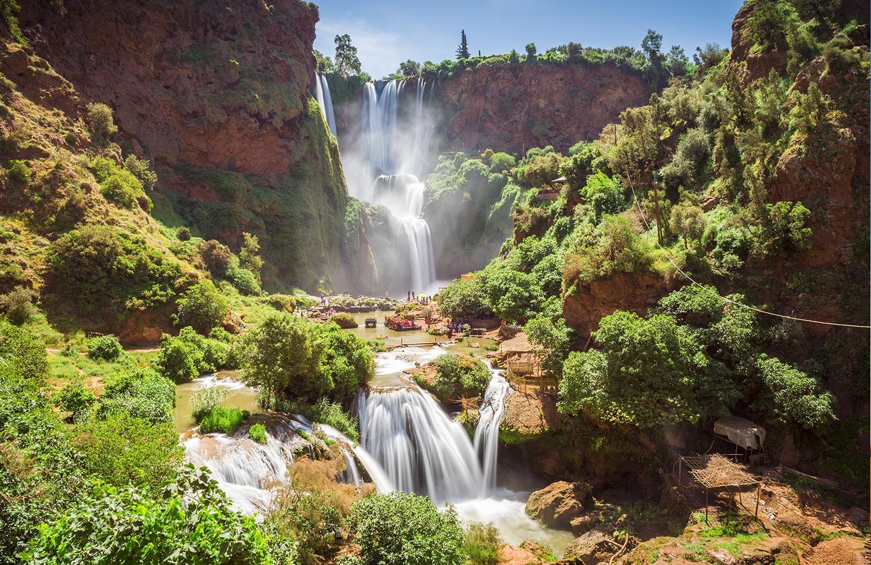Conseils pour visiter Marrakech et ses alentours - Cascades d'Ouzoud
