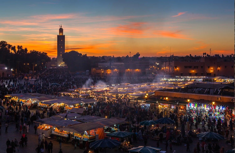 Conseils pour visiter Marrakech et ses alentours - Place Jema El Fna