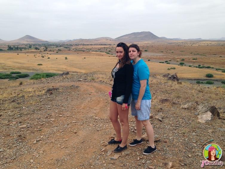 Paysage Maroc - randonnée en quad dans la palmeraie de Marrakech