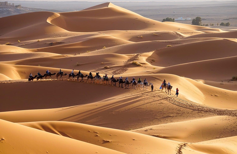 Conseils pour visiter Marrakech et ses alentours - Nuit dans le désert