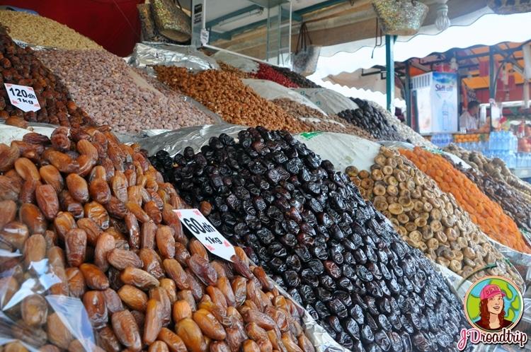 Fruits secs - types de souvenirs à ramener du Maroc