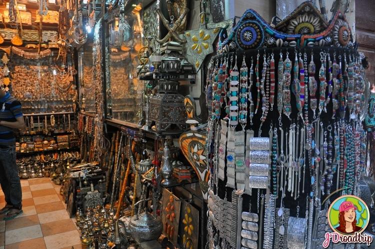 Bijoux - types de souvenirs à ramener du Maroc