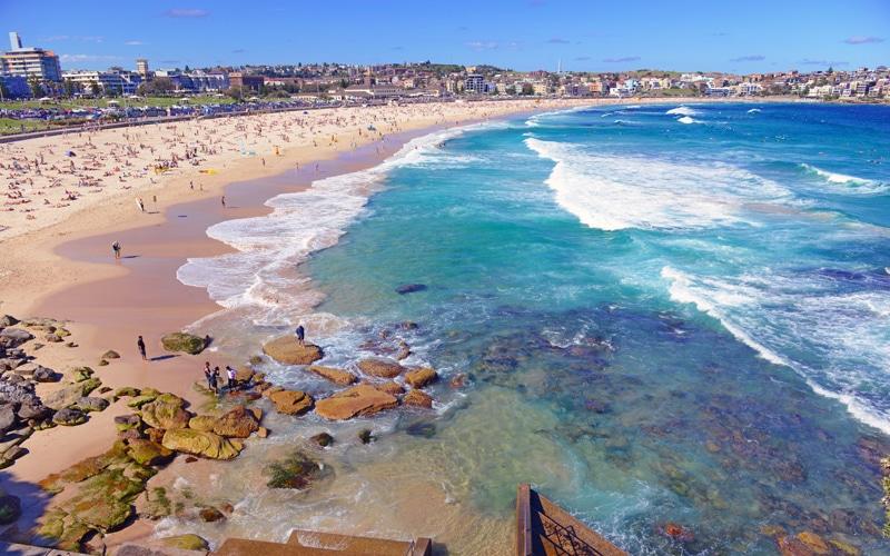 Bondi Beach - meilleures plages en Australie