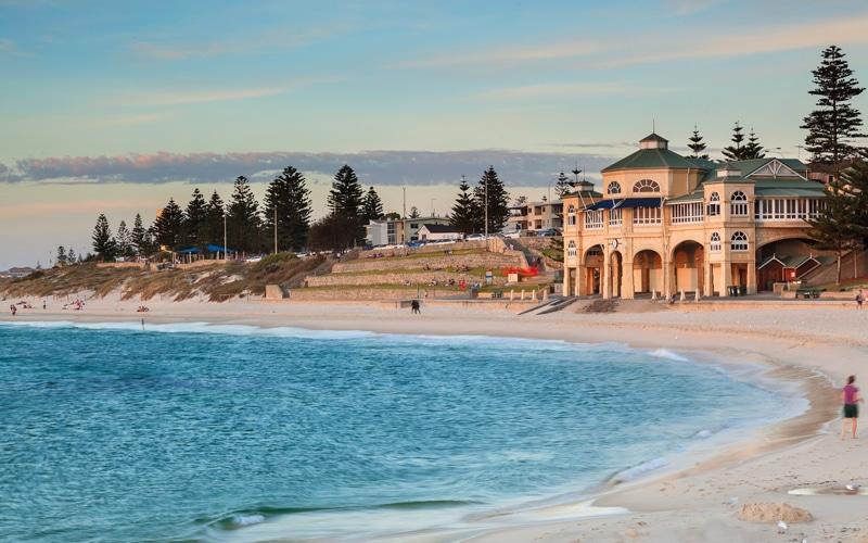 Cottesloe beach - meilleures plages en Australie