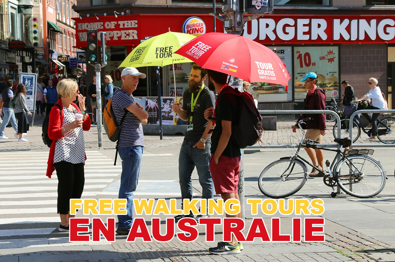 Les Free Walking Tours en Australie