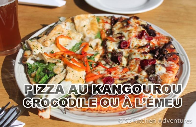 Goûter la pizza kangourou et crocodile en Australie