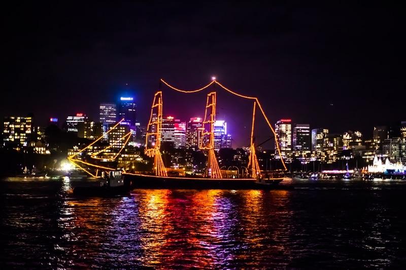 Fêter le jour de l'an 2016 à Sydney