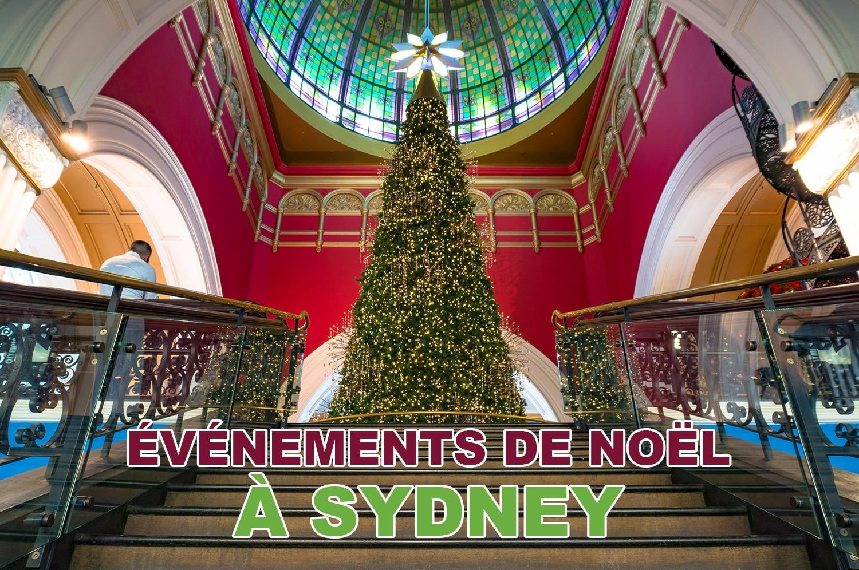 Les événements de Noël à Sydney