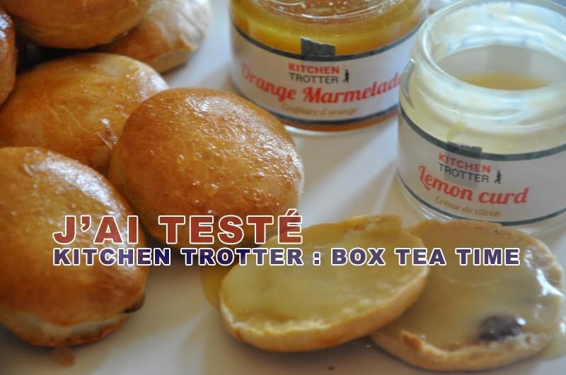 J'ai testé la box Tea Time de Kitchen Trotter, un cadeau idéal