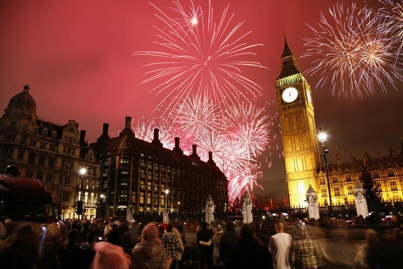 Londres - Top 10 des villes où fêter le nouvel an dans le monde