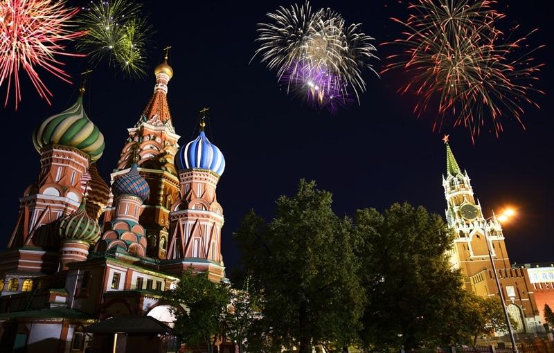 Moscou - Top 10 des villes où fêter le nouvel an dans le monde