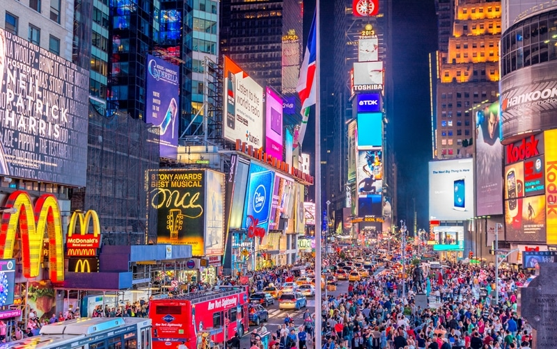 New-York - Top 10 des villes où fêter le nouvel an dans le monde