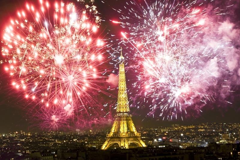 Paris - Top 10 des villes où fêter le nouvel an dans le monde