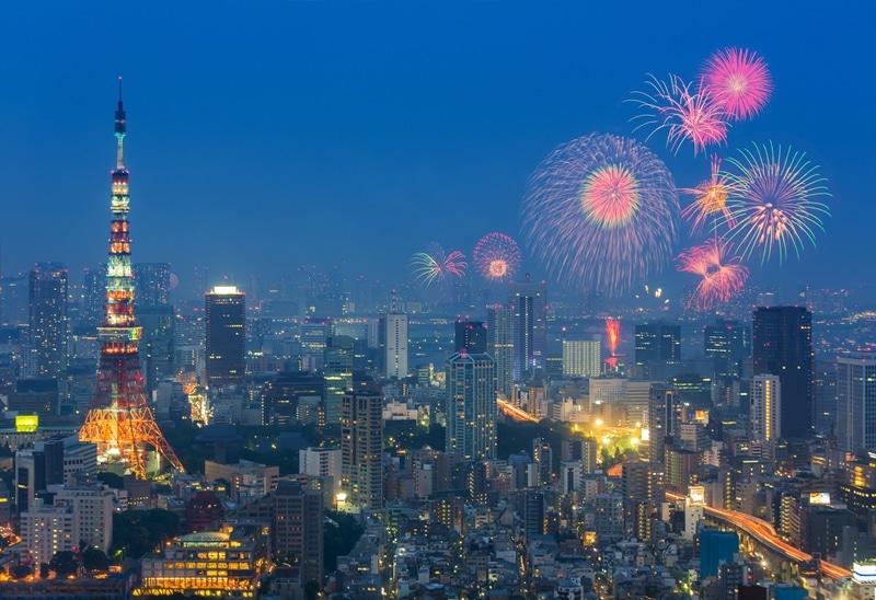 Tokyo - Top 10 des villes où fêter le nouvel an dans le monde