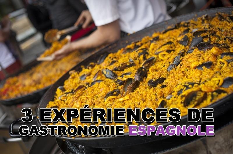3 expériences de gastronomie espagnole