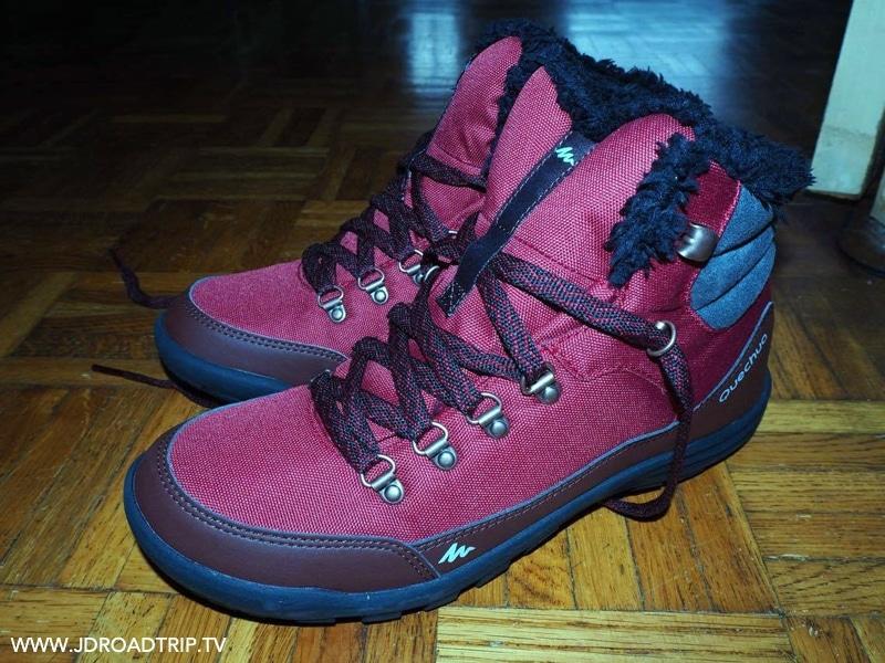 Chaussures d'hiver - chaussures de marche pour ses voyages