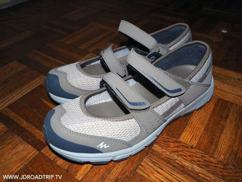Balerines - chaussures de marche pour ses voyages