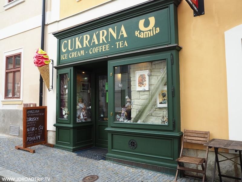 Bonnes adresses où manger à Prague - Pâtisserie Cukra'rna