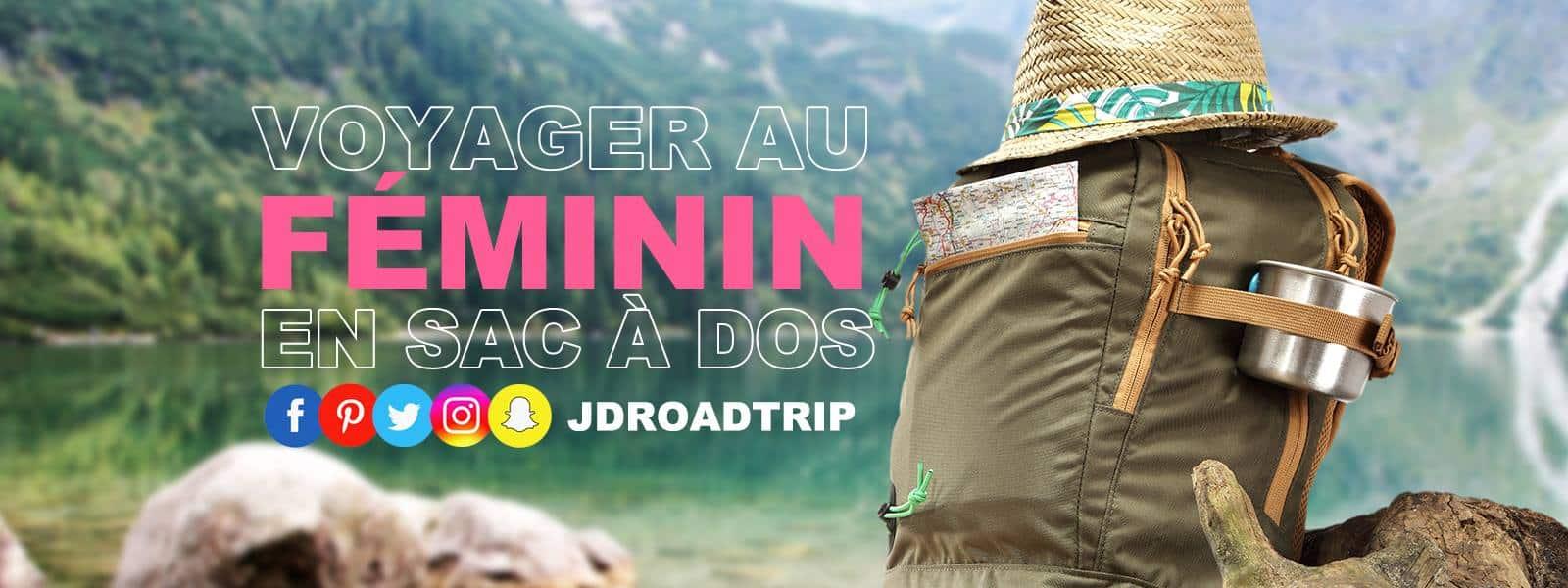Conseils pratiques pour voyager au féminin - www.JDroadtrip.tv
