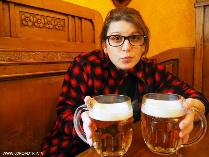 Visiter Prague en 4 jours - Restaurant Amos