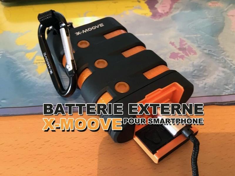La batterie externe X-moove pour smartphone - JDroadtrip.tv