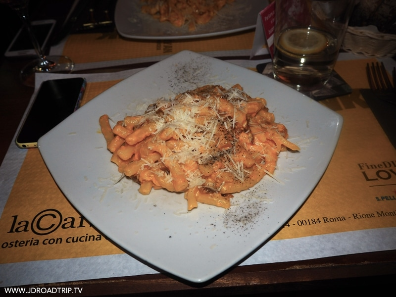 adresses où manger à Rome