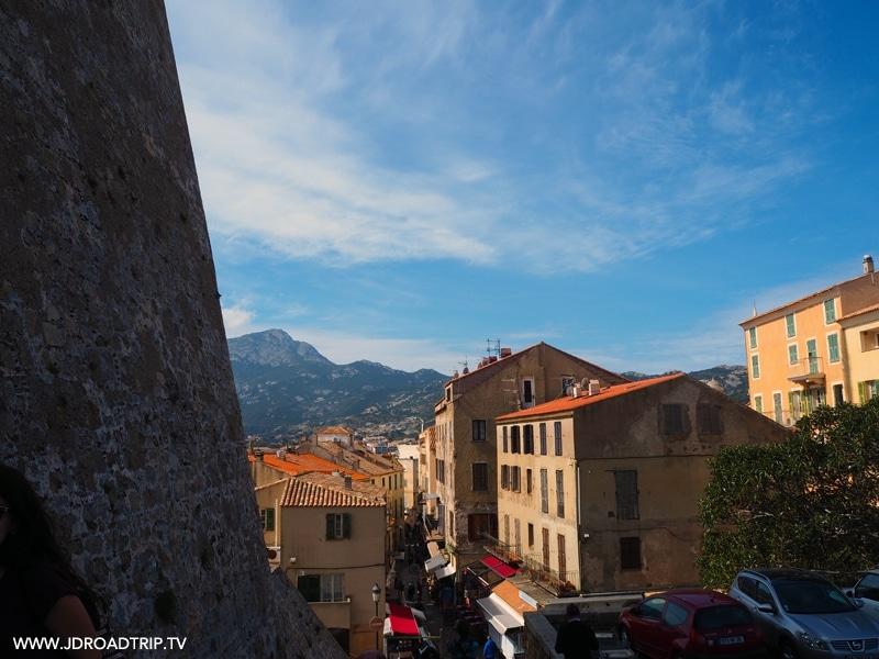 Visiter la région Balagne en Corse - Citadelle Calvi