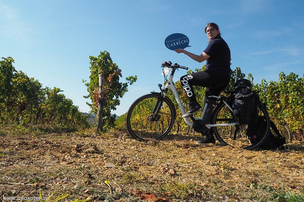 l'Ardèche du Sud en vélo