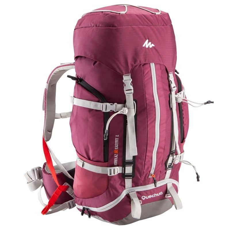 sac à dos Quechua Forclaz Easyfit 50L