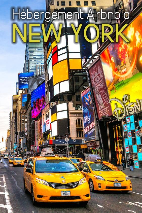 expérience hébergement Airbnb à New York