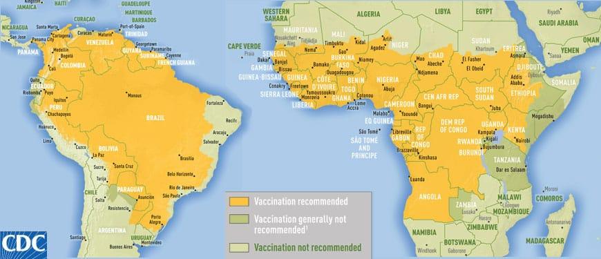 vaccins obligatoires pour voyager