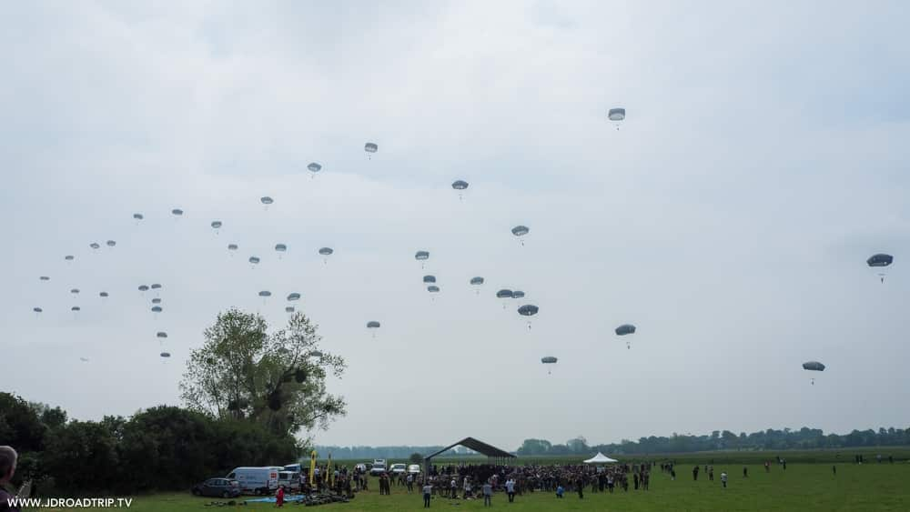 D-Day Festival Normandy - Parachutage