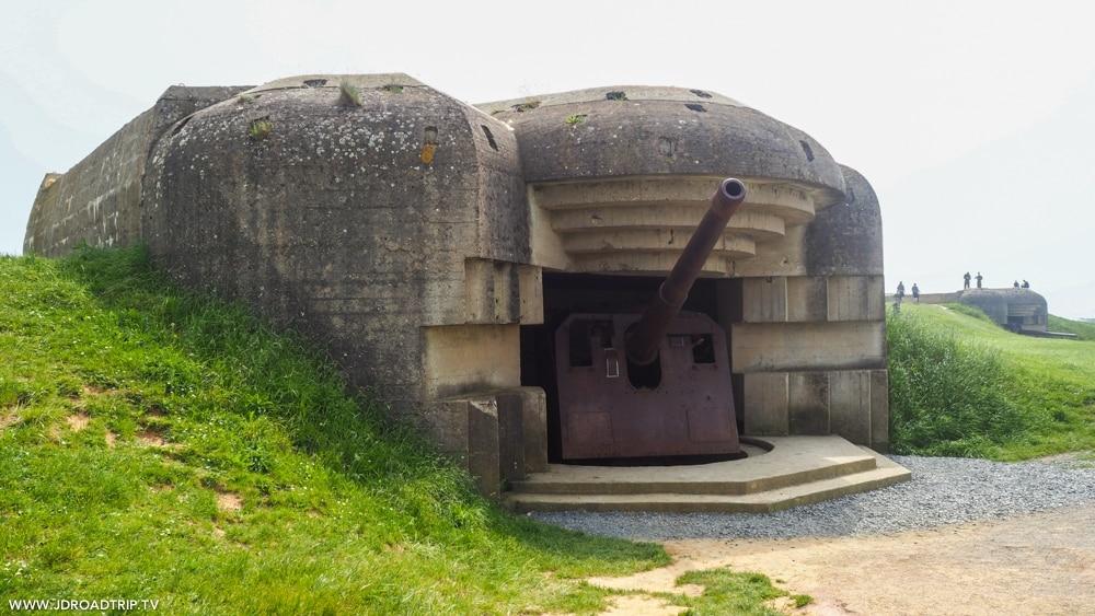 Visiter les plages du débarquement - Batterie allemande Longues-sur-Mer