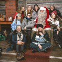 Laponie au féminin - Père Noël