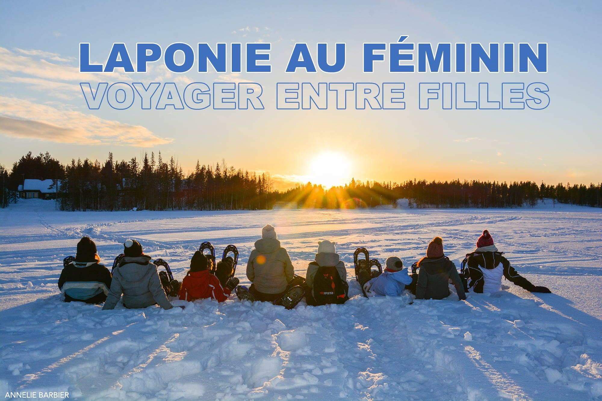 Le premier voyage Laponie au féminin en mars 2017